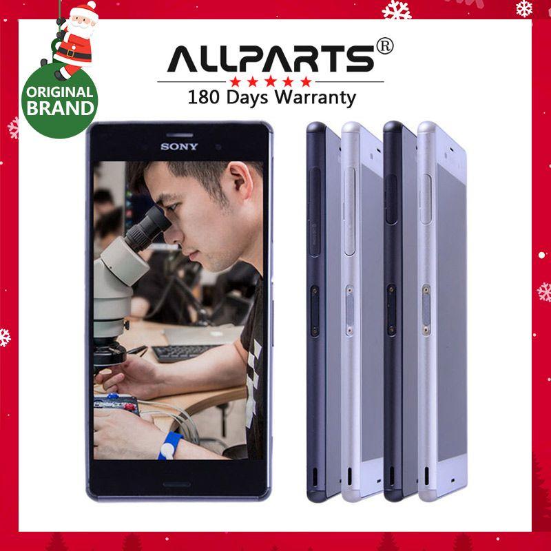 D'origine 5.2 ''IPS Pour SONY Xperia Z3 LCD Affichage à L'écran Tactile avec Cadre D6603 Remplacement pour SONY Xperia Z3 LCD Double D6633