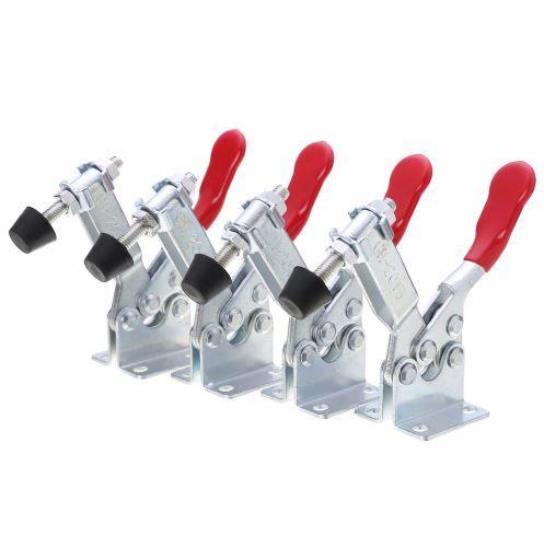 4 pièces/ensemble capacité de maintien 100Kg dégagement rapide Type Vertical GH-201b pince à bascule ensemble d'outils à main