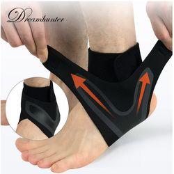 1 PC Compression Ankle Protektoren Anti Verstauchung Outdoor Basketball Fußball Ankle Brace Unterstützt Straps Bandage Wrap Fuß Sicherheit