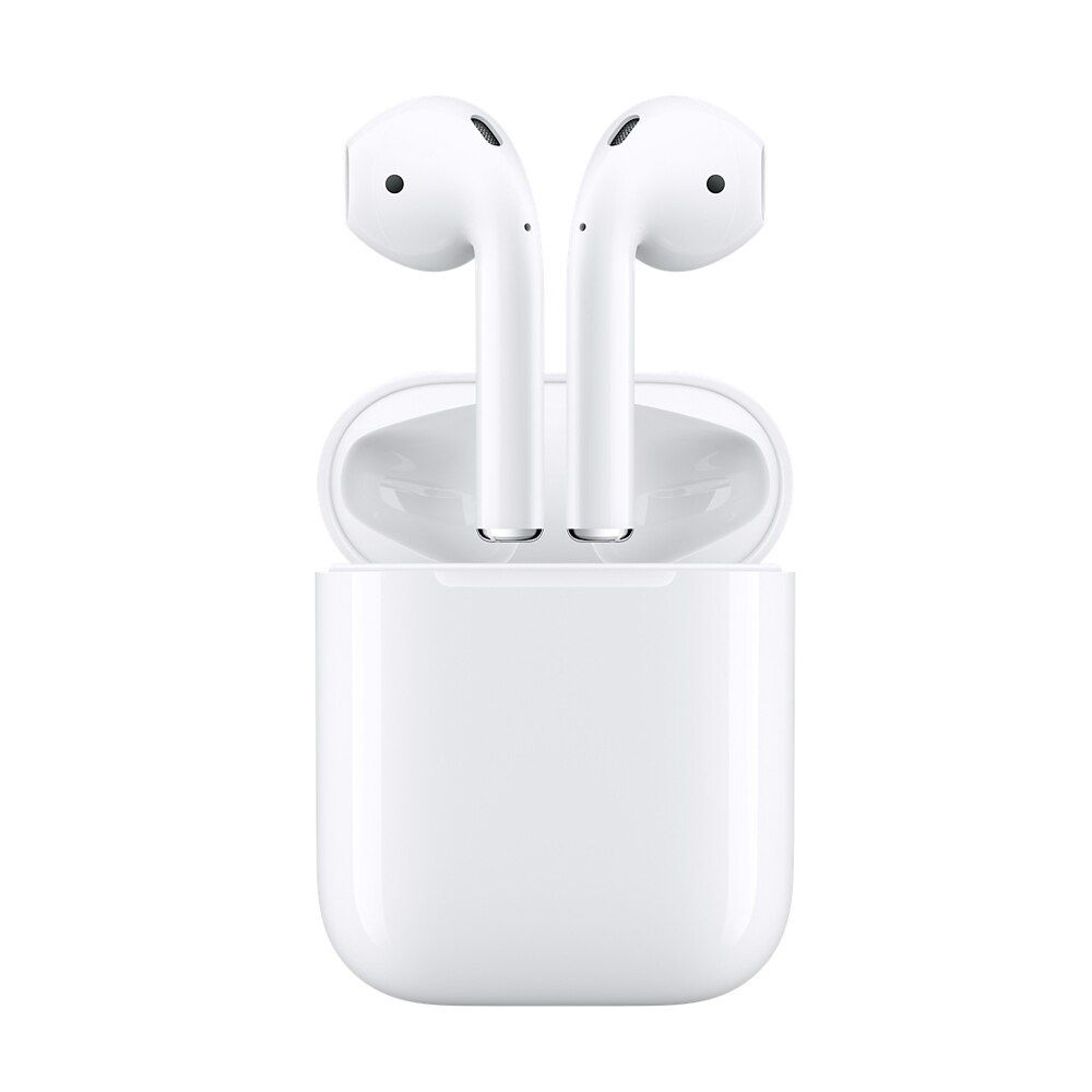 Genuine Apple AirPods Wireless Earphone Headphones Original Apple's Bluetooth Headphones for iPhone <font><b>iPad</b></font> Mac and Apple Watch
