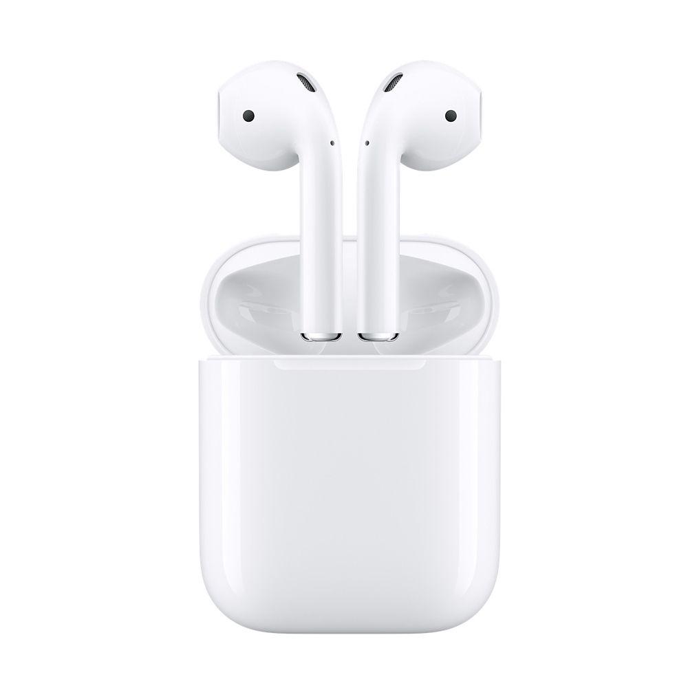 Original Apple AirPods Drahtlose Kopfhörer Kopfhörer Original Apple der Bluetooth Kopfhörer für iPhone Xs Max XR 7 8 Plus Zubehör