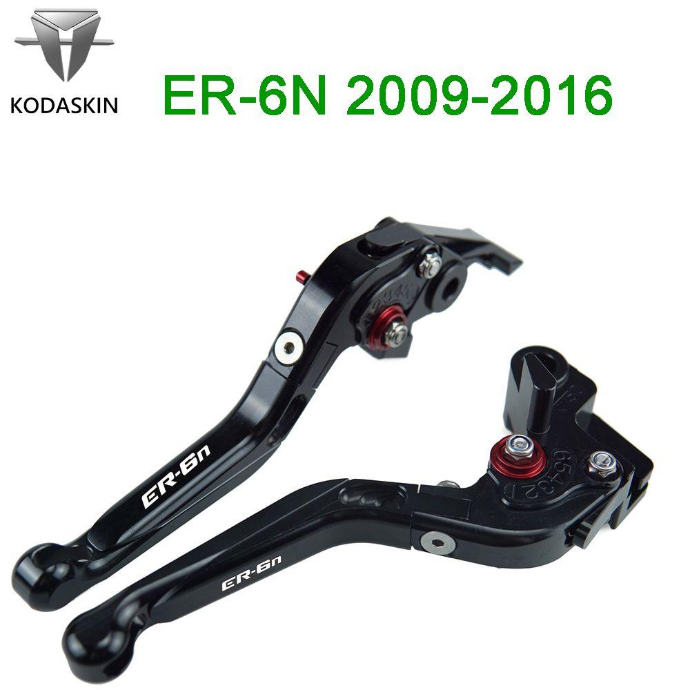 KODASKIN Folding Erweiterbar Bremse Kupplung Hebel für KAWASAKI ER-6N/ER6N 2009-2016 Motorrad Griff Hebel