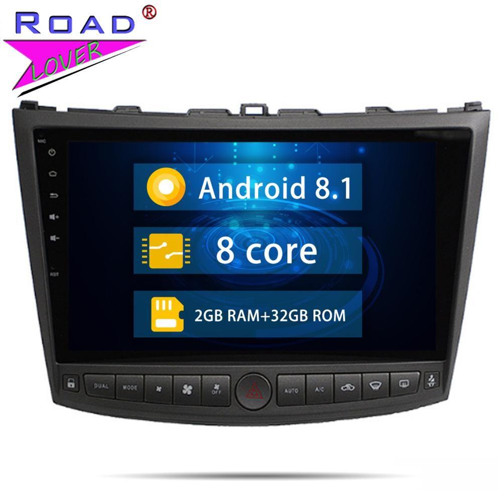 Kopf Einheit Android 8.1 Auto Radio Octa Core DVD Player Für Lexus IS250 IS300 2005-2011 Stereo GPS Navigation 2 din Audio Autoradio