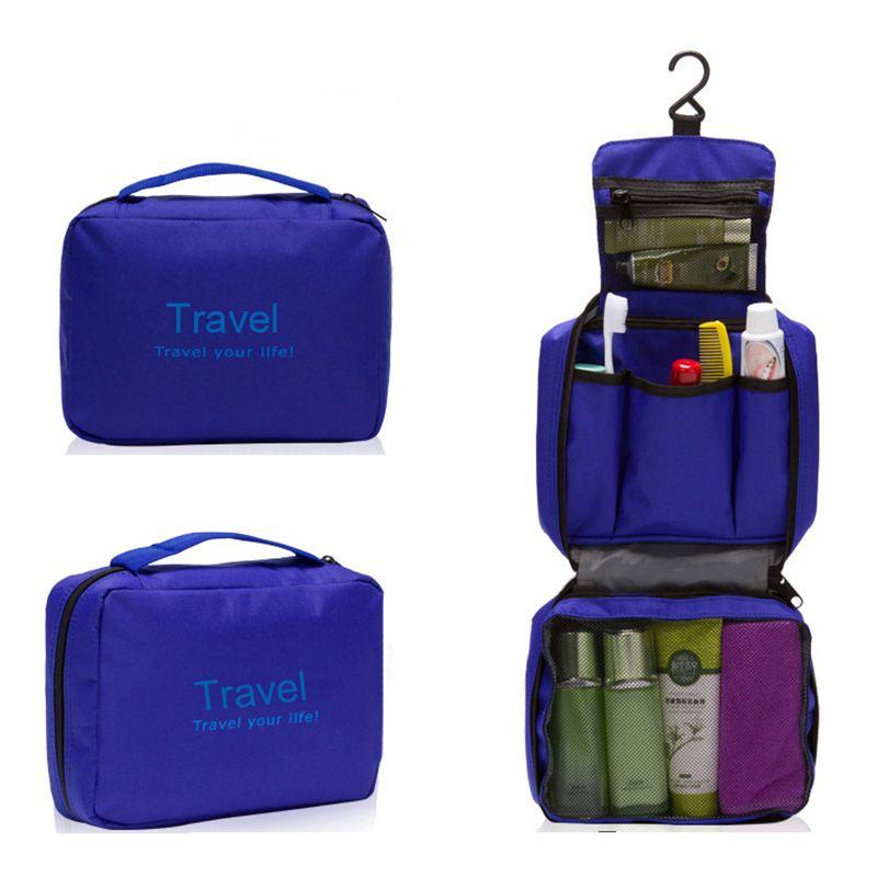 IUX sac de maquillage imperméable à l'eau Portable homme trousse de toilette femmes cosmétique organisateur pochette suspendus sacs de lavage multifonction