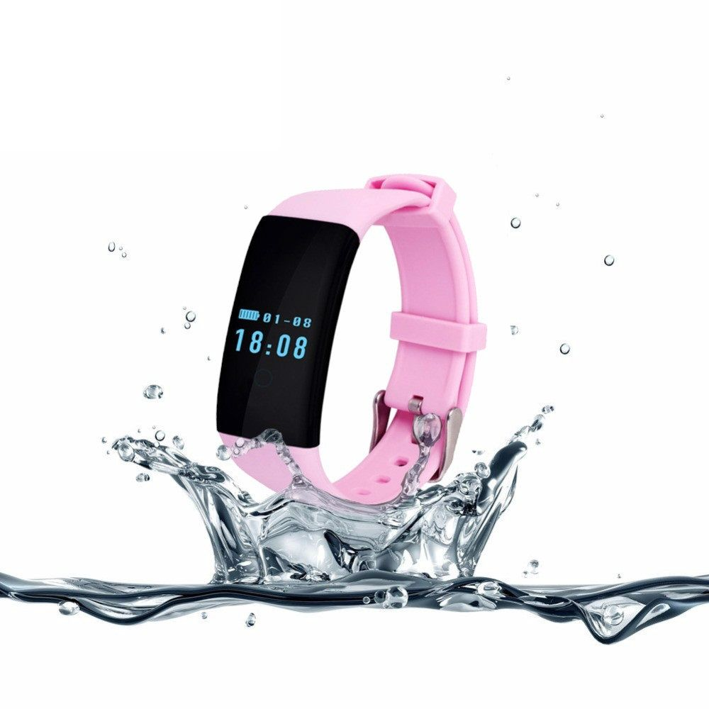 Original TK04 Heart Rate Monitor Smartband Waterproof Swim Fit Bit Smart Band Bracelet Fitness Tracker for Phone PK Fitbit