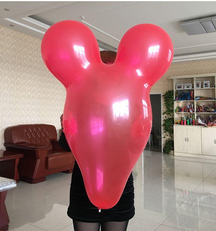 10 pcs/lot 36 pouce Mickey ballon Gros ballon en gros nouvelle 7g Couleur en option Enfants jouets fête d'anniversaire décoration