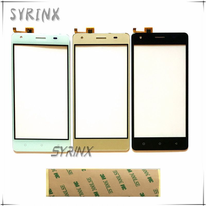 Syrinx 5.0 inch With 3m Tape Moible Phone Touch Panel For DEXP Ixion ms550 Touchscreen Sensor Front Glass Lens Touchpad