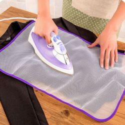 1PCS 40x60cm Protective Press Mesh Ironing Cloth Guard Protect Delicate Garment Clothes