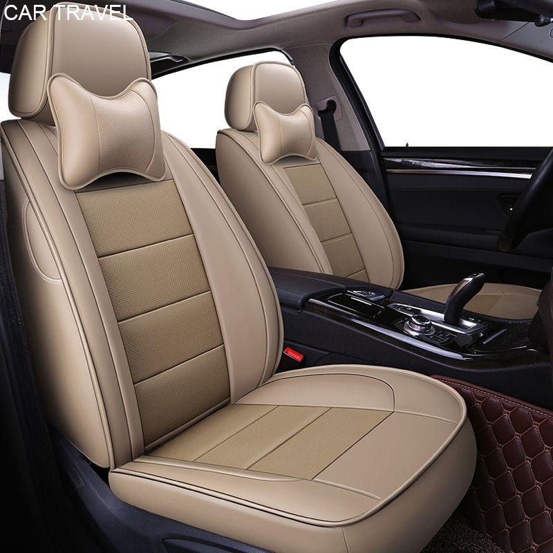 custom Genuine leather car seat cover For Toyota alphard Prado RAV4 Fj CRUISER LAND CRUISER CROWN Fortuner COROLLA Sienna covers