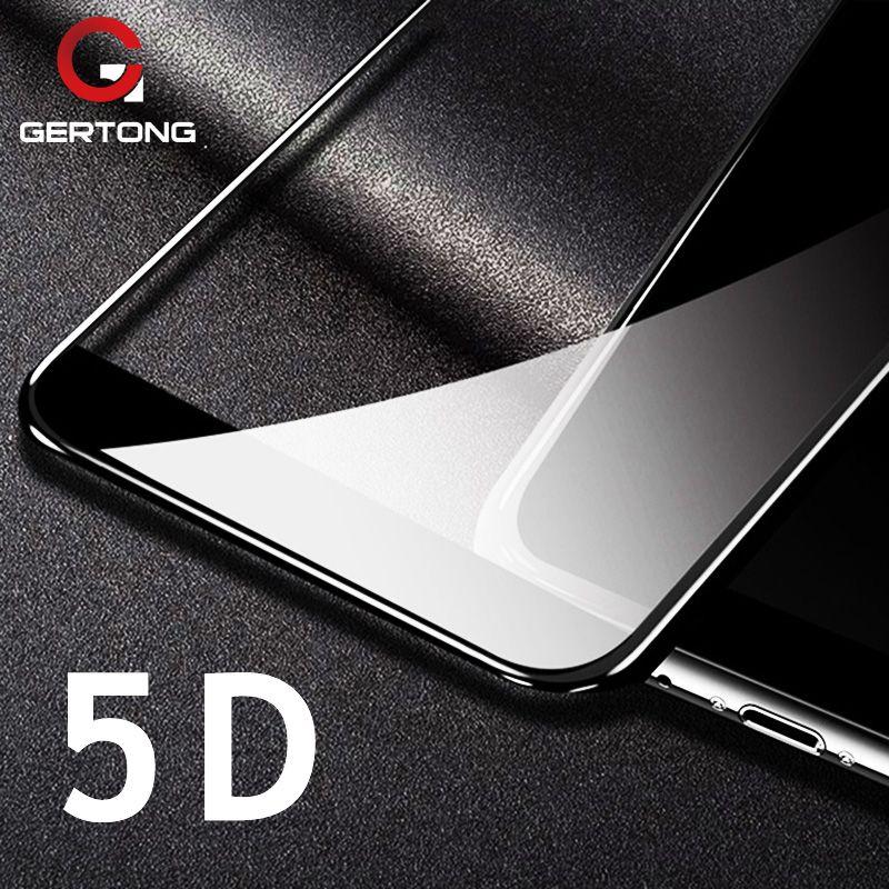 5D (Over 4D ) Screen Protector Glass For Xiaomi Mi A1 A2 Mi6 Pocophone F1 Mi5X Redmi 5 Plus 4X Note 5 6 Pro 4X 5A Front Film
