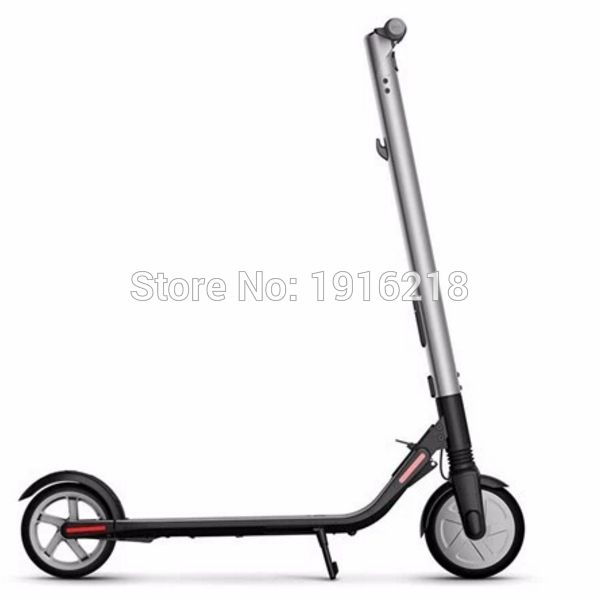 Electric Scooter (ES2) Sports Version Adult Two-Wheeled Folding Recreational Vehicle Portable Two-Wheeled Travel & APP Scooter