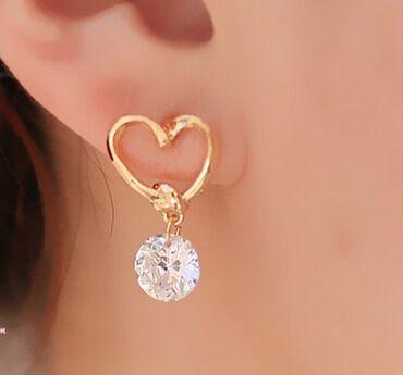 AAA+ Simple New Design Rhinestone Crystal Silver Stud Earrings Piercing Ear Studs for Women Wedding Party Gift