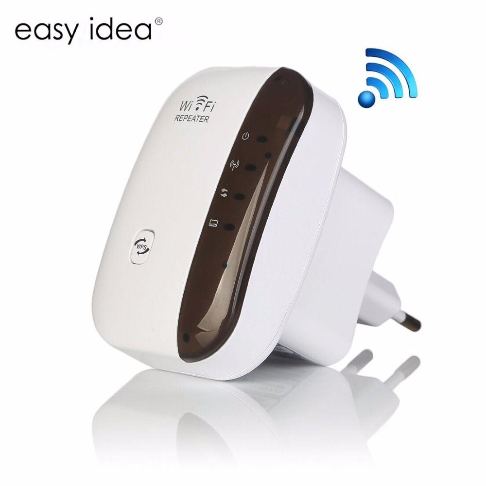 Sans fil WiFi Répéteur 300 Mbps Signal Amplificateur 802.11N/B/G Wps Cryptage Réseau Antenne Wifi Extender