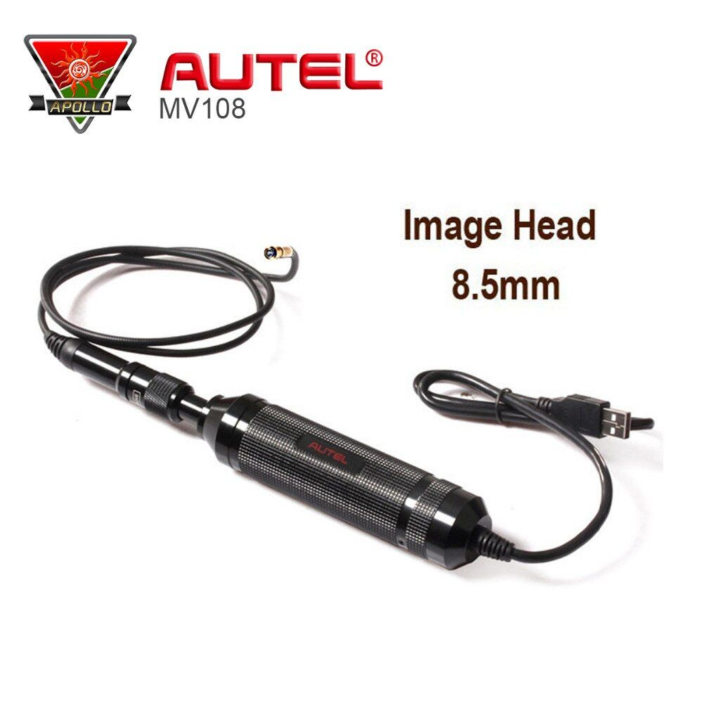 Original Autel MaxiVideo MV108 digital inspection camera work with MaxiSys Pro support video inspection scope MV 108