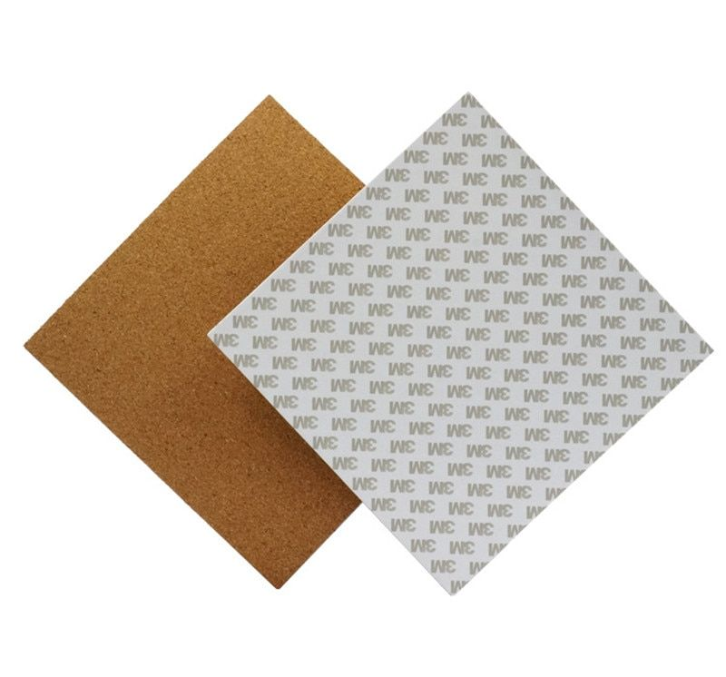 300*300*3mm Heated Bed Hotbed Thermal Pad Insulation Cotton With Cork Glue For 3D Printer Reprap Ultimaker Makerbot