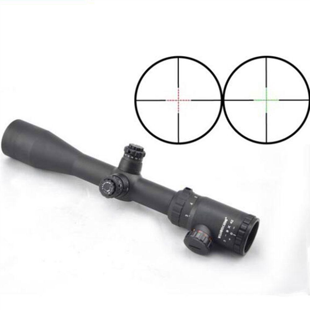 Visionking 3-9x42 Mil-точка прицел 30 мм Охота прицелы высокий shockresistance Широкий формат riflescopes.308 30-06.223 областей