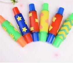 18 Cm Rolling Pin Ntelligent Plasticine Clay Cetakan Alat DIY Bunga Dekorasi Roller Brush Seal Mainan Anak-anak Plasticine Model
