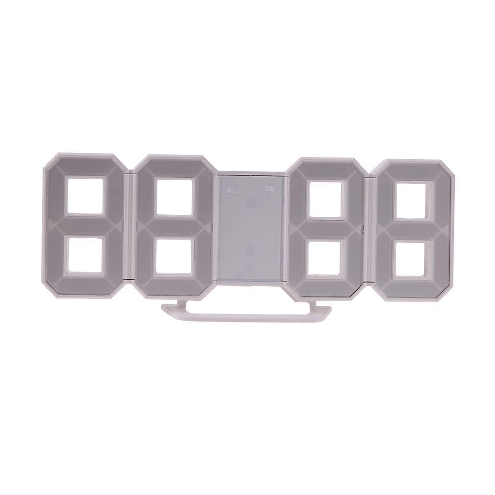 2 в 1 стол будильник светодиодный цифровой номер Дизайн show сигналы с Подсветка настенные часы в Гостиная