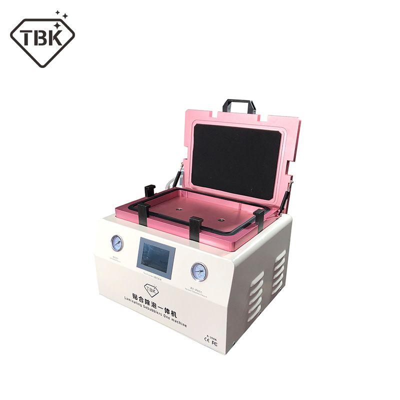 TBK-308A 15 zoll LCD Touch Screen Reparatur Automatische Blase Entfernen Maschine OCA Vakuum Laminieren Maschine mit automatische sperre gas