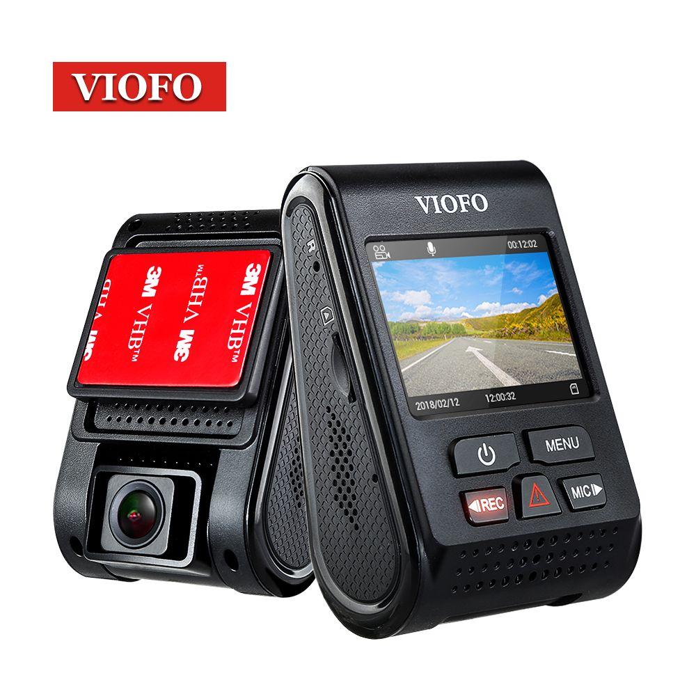 Original VIOFO Upgrated A119 V2 2.0 LCD Capacitor Novatek <font><b>96660</b></font> HD 2K 1440P Car Dash video recorder DVR Optional GPS CPL Filter