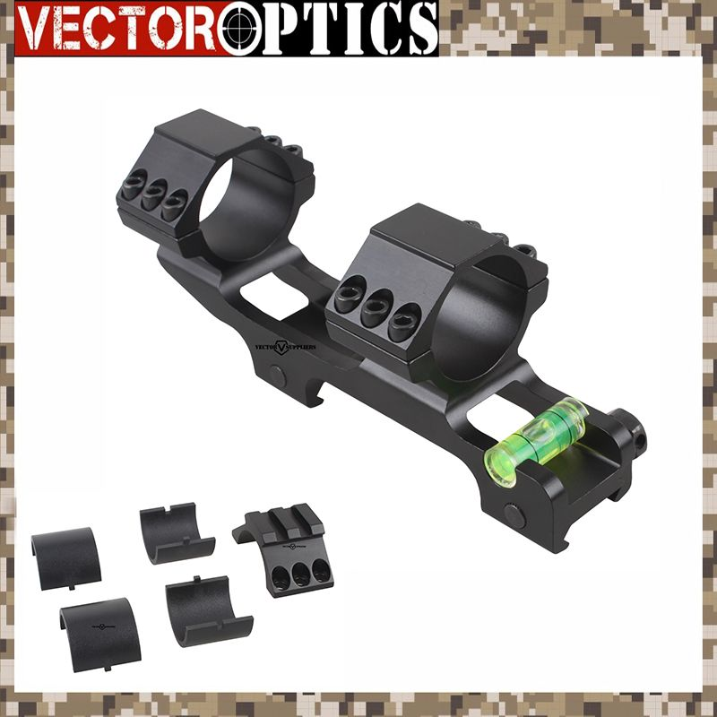 Vector Optics 30mm One Piece Extra Light ACD Scope Mount Anti Cant Device ACD Bubble Level Mount w/ 1 Adapter 139mm 5.5