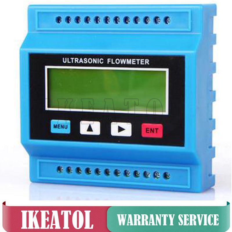 TUF-2000M Ultrasonic Flowmeter TM-1 Transducer (DN50-700mm) Digital Water Flow Meter