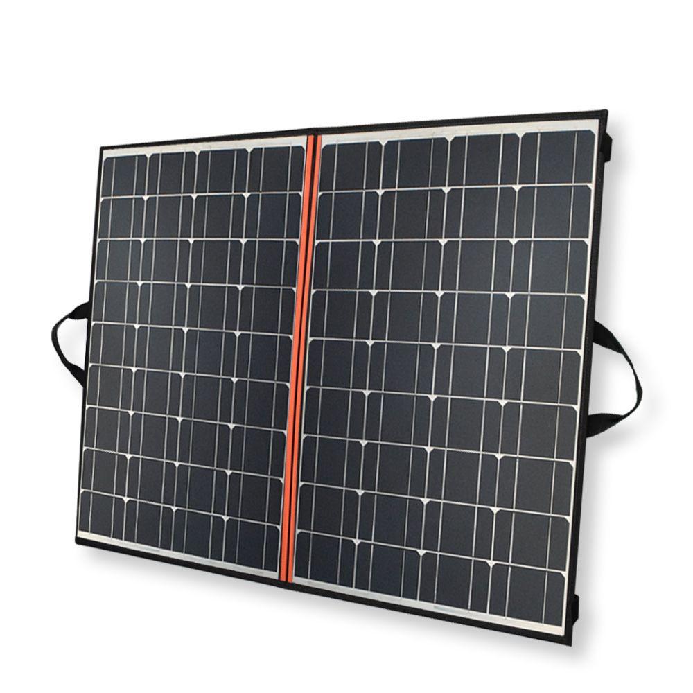 140 watt faltbare panel solar ladegerät 70 watt * 2 Schwarz mono Solar Panels China PV modul 12 v/ 24 v 10A controller batterie solar decke