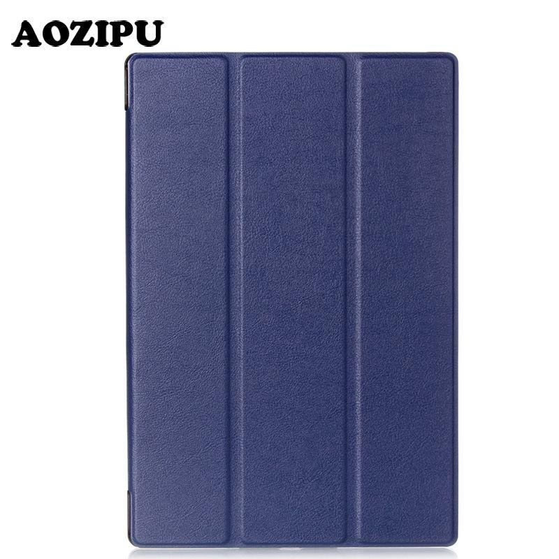 Smart aimant pli Flip PU cuir Funda étui pour Sony Xperia Z2 (10.1
