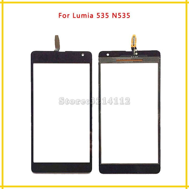 Touch Screen Digitizer Sensor Outer Glass Lens Panel For Nokia Microsoft Lumia 535 N535 CT2S1973 or CT2C1607 version