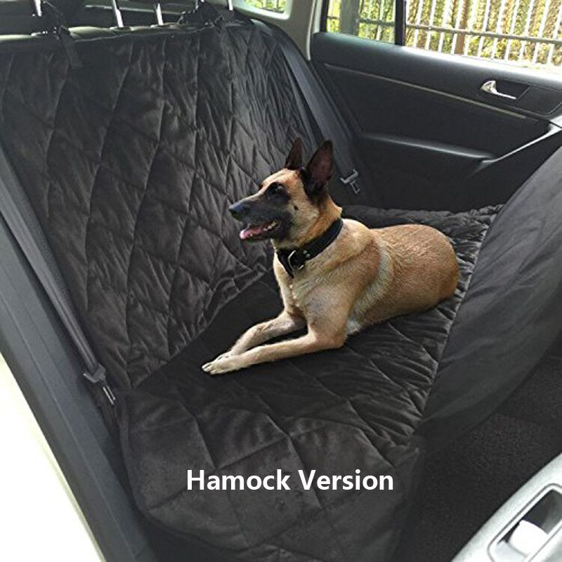Pet Dog Car Rear Bench Back Seat Cover Mat waterproof Hammock style and Back Cover of SUV for pet products dog accessories