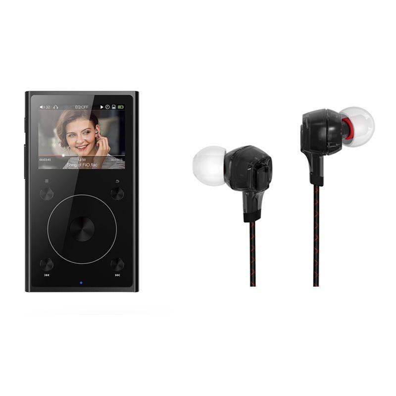 Комплект продажи FiiO Портативный Hi-Res музыкальный плеер x1ii с FiiO наушники F1, MP3-плееры x1ii с наушником F1