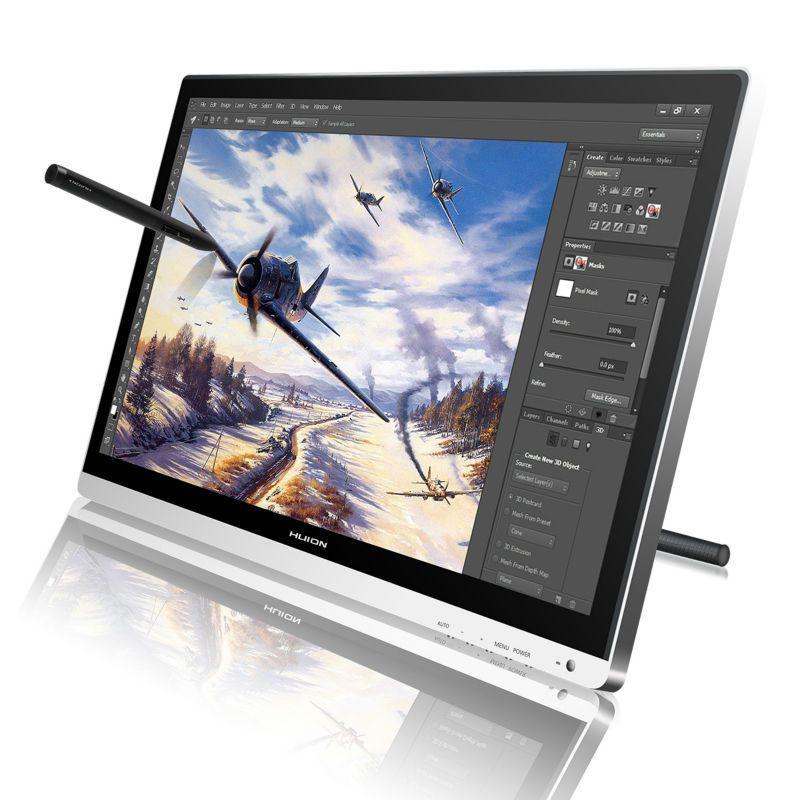 Huion GT-220 V2 21.5 Pen Tablet Monitor Digital Drawing Monitor Touch Screen Monitor Interactive Pen Display HD IPS LCD Monitor
