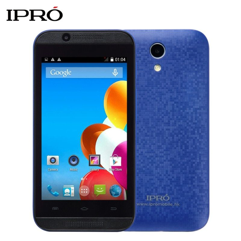 Original IPRO Wave 4.0 Inch 512M RAM 4GB ROM 3G Smartphone GPS Dual Core Celular Android Unlocked Mobile Phone Dual SIM Card