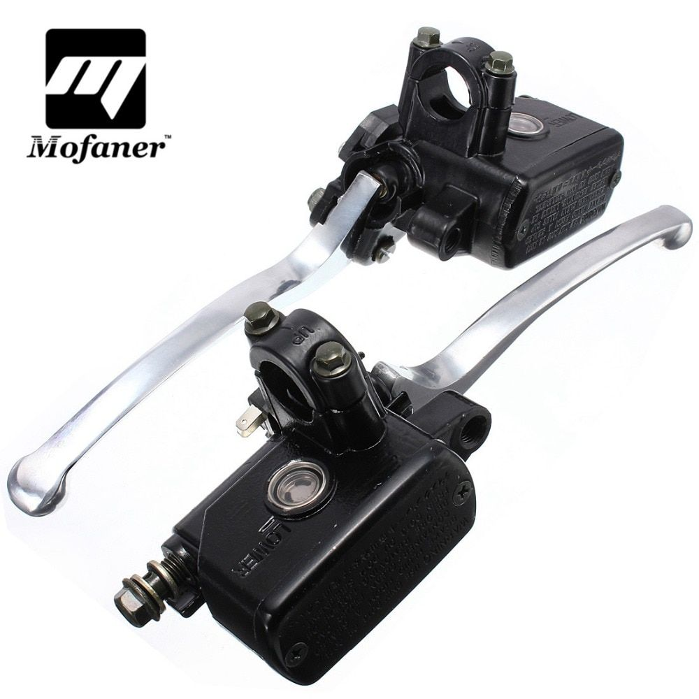 7/8inch 20mm Motorcycle Hydraulic Brake Clutch Lever Master Cylinder Left Right