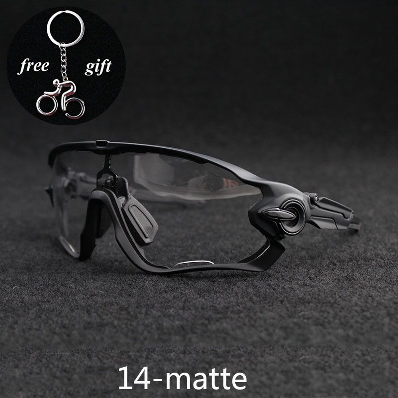 2018 Hot SALE Clear Photochromic Cycling Glasses Men Women Sports MTB Mountain Road Bike Bicycle Cycling Sunglasses Eyewear
