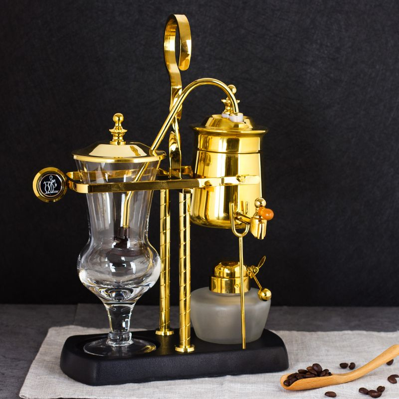 Königliche Belgien Kaffee maschine Siphonic Destillation kaffee topf machen kaffee Anzug Drip typ Manuelle kaffee maschine