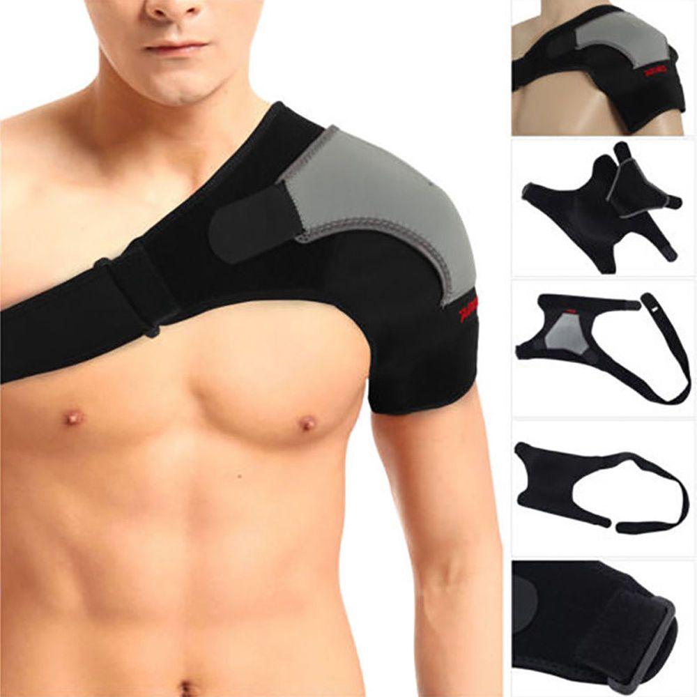 Réglable Gauche/Droite Épaule Bandage Protecteur Brace Douleurs Articulaires Blessures Épaule Sangle De Support La Formation D'équipements Sportifs Z16401