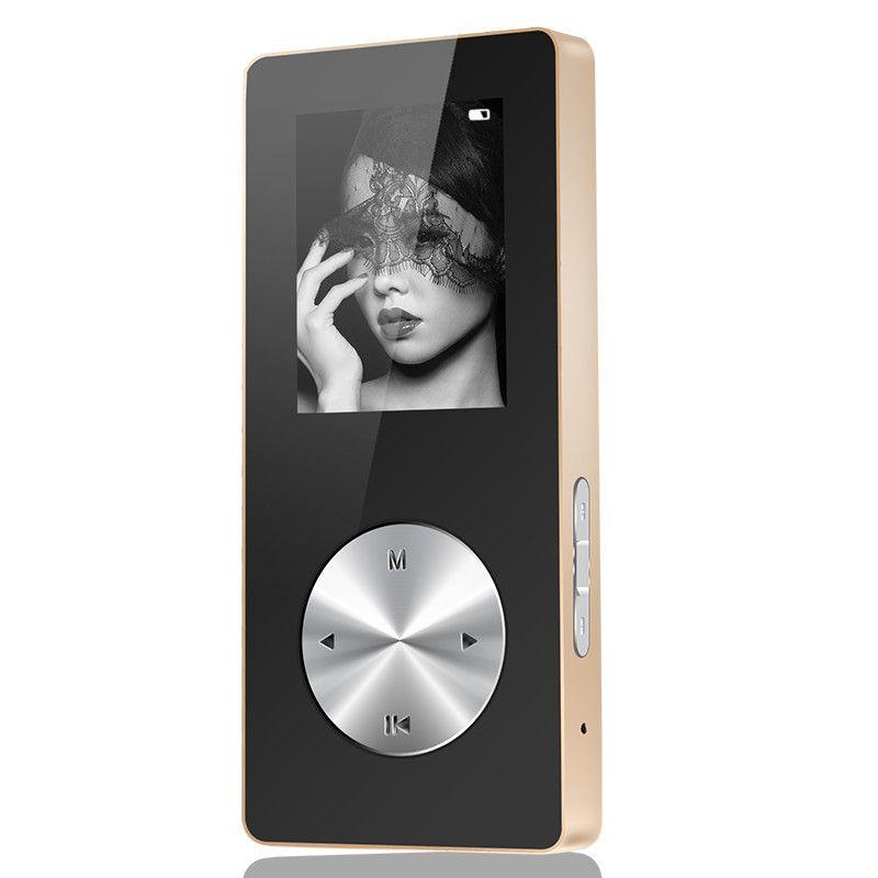 Bluetooth MP3 MP4 Player Full Metal Hifi MP4 Player Sport Mini Walkman Mit Lautsprecher Tf-karte FM Uhr Spiel Recorder Pen 4