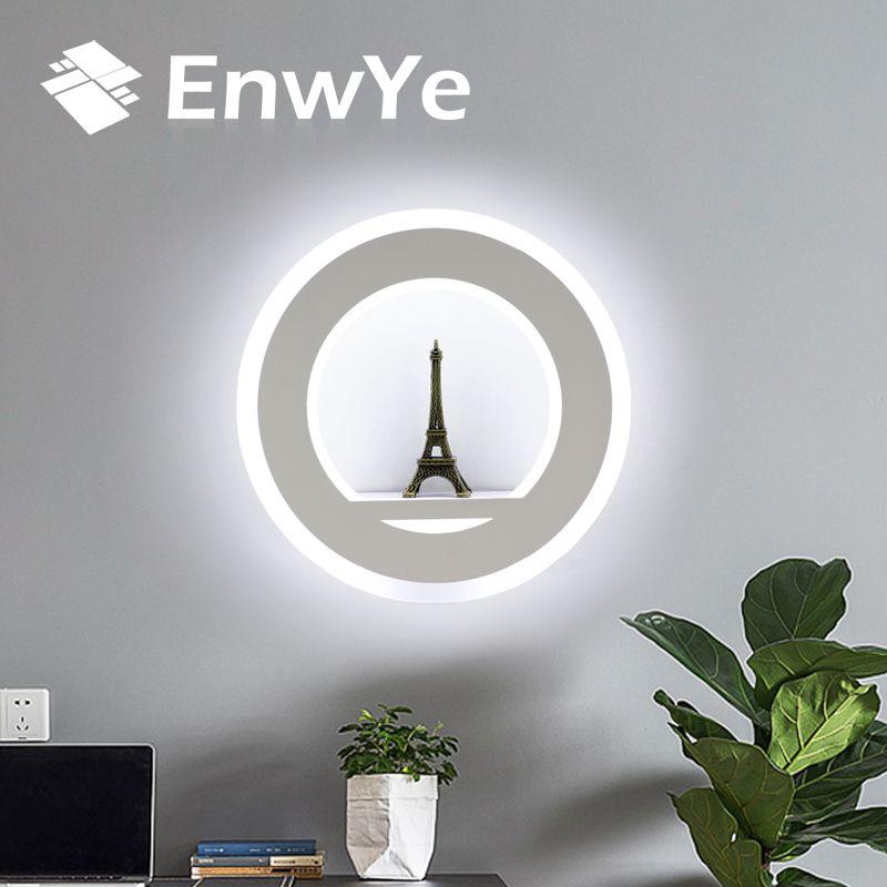 EnwYe LED Wandleuchten 17 Watt AC110V 220 V Moderne Einfache Schlafzimmer Nacht Innen Wandbeleuchtung