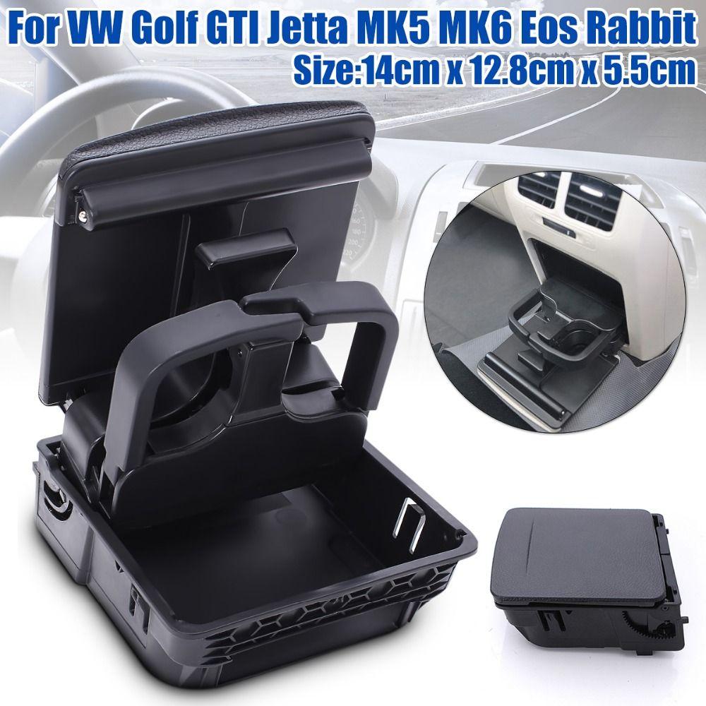 Neue Mittelkonsole Armlehne Hinten Cup Getränkehalter Für VW/Jetta MK5 5 Golf 6 MK6 MKVI 1K0 862 532 C
