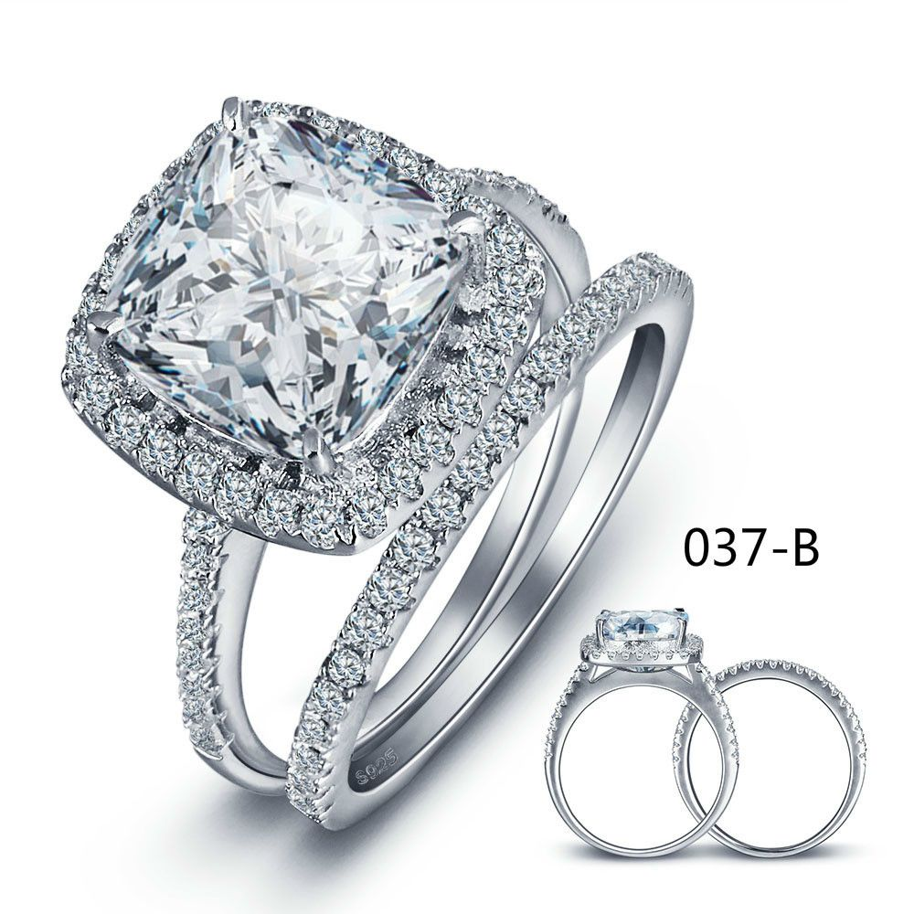 High Archives Ornaments The Wedding Hand <font><b>Decorate</b></font> Luxury Set Ring Woman Zircon