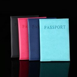 Artificielle En Cuir Femmes Passeport Titulaire Couple Modèles Femmes de Voyage BusinessPassport Couverture Unisexe Carte Cas Titulaire de la Carte D'hommes