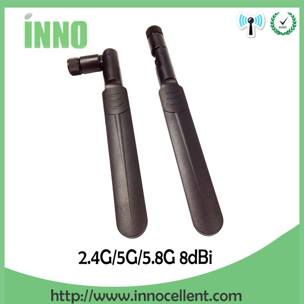 2.4GHz 5GHz 5.8Ghz Dual Band wifi Antenna 8dBi SMA Male Connector wi fi antenne 2.4 ghz 5G 5.8G Antena aerial wireless router