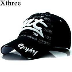 Xthree Оптовая Snapback Бейсболка Шляпы Хип-хоп установлены дешевые шляпы для мужчин женщины Gorras загнутыми полями шляпы повреждения cap