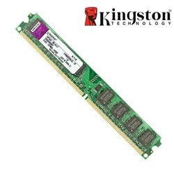 Оригинальный Kingston 2 GB ram DDR2 4 GB ram память ddr3 4 GB 8 GB 2 GB 800 MHZ 667 MHZ 1333 MHZ 1600 MHZ для настольного компьютера