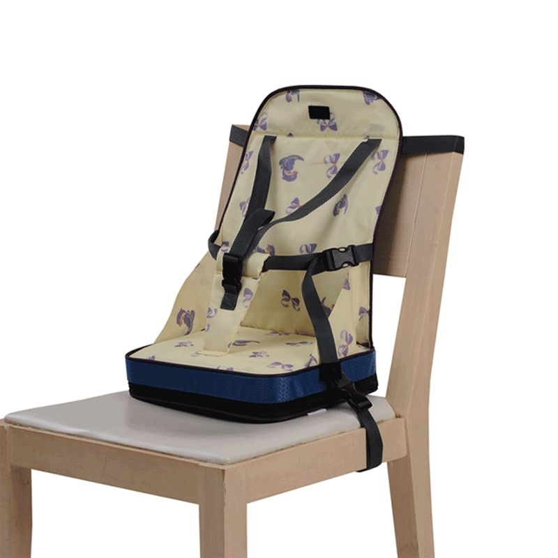Детские Портативный Booster путешествия стульчик жгута ужин обед Водонепроницаемый Кормление складные сиденья t0148