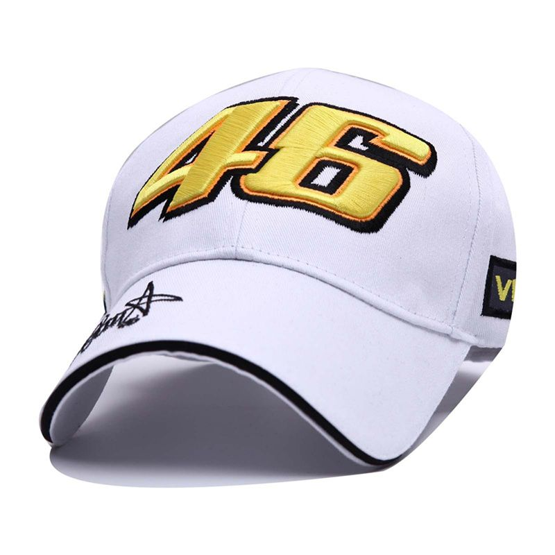 VORON cotton Baseball Cap Wholesale Rossi 46 Embroidery Snapback Cap Hat Motorcycle Racing Caps VR46 Sport Hat for Men Women