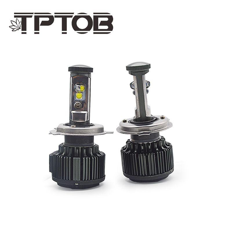 TPTOB Auto Car Headlight Bulbs T6 H4 H7 H11 H1 CSP LED 9005/HB3 9006/HB4 H13 9004 9007 H3 8000Lm Fog Lights White 6000K 12V 24V