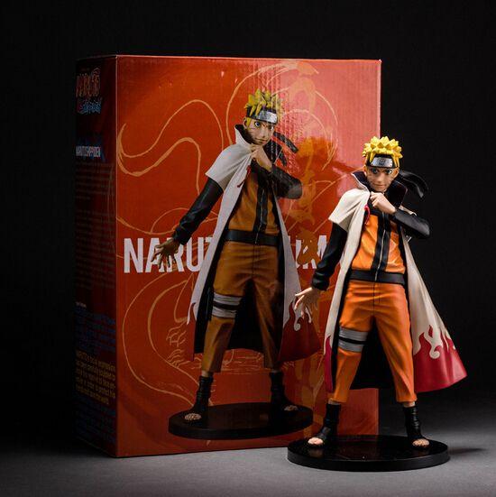 Hot ! NEW 24cm Uzumaki Naruto action figure toy Christmas gift doll collectors minren