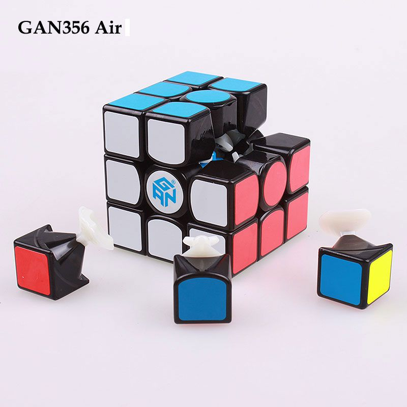 GAN 356 Air 3x3x3 Stickers master standard puzzle <font><b>magic</b></font> speed cube professional gans cubo advance version toys for children